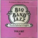 big band jazz - from the beginnings to the fifties volume II CD 1983 RCA smithsonian used mint