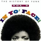 history of funk vol. 3 in your face CD 1993 rhino used mint