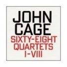 john cage - sixty-eight quartets I-VIII CD 1995 hat hut used mint