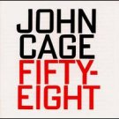 john cage - fifty-eight - blasorchester & zutphen CD 1993 hat hut used mint