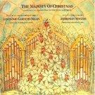 the majesty of christmas - longwood gardens organ ambrosian singers CD 1987 CBS mint