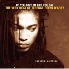 do you love me like you say - very best of terence trent d'arby CD 1996 sony used mint