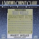 mary wells - greatest hits CD 1987 motown used mint