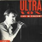 ultravox - BBC radio 1 live in concert CD 1981 BBC 1992 windsong used mint
