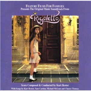 rigoletto - soundtrack - kurt bestor CD 1993 feature films for families used mint
