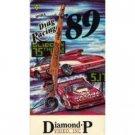 NHRA drag racing 89 VHS 1989 diamond p video 120 min color used very good