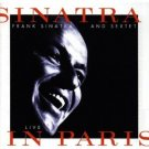 frank sinatra - live in paris CD 1994 reprise warner used mint