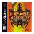 playstation - odd world - abe's exoddus 1998 GT interactive used mint
