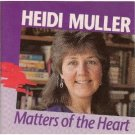 heidi muller - matters of the heart CD cascadia music 13 tracks used mint