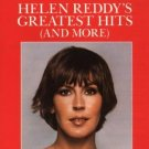 helen reddy - helen reddy's greatest hits and more CD 1987 capitol BMG Direct used mint