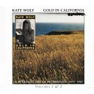 kate wolf - gold in california CD 2-discs 1986 rhino used mint