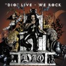 dio - live we rock CD & DVD 2010 candlelight made in UK used mint