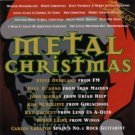 metal christmas - various artists CD 1996 MCA used mint