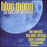 blue moon 20 doo wop delights - various artists CD 1998 hallmark used mint