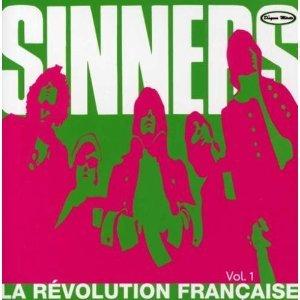 les sinners - la revolution francaise vol. 1 CD disques merite quebec used mint