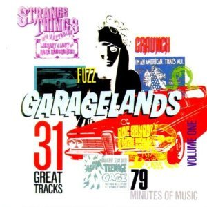 garagelands volume one - various artists CD 1998 bam caruso 31 tracks used mint