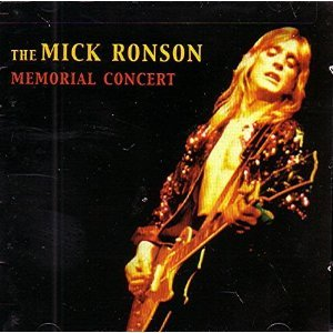 mick ronson memorial concert CD 3-disc box with booklet 2001 NMC UK used mint