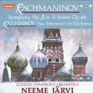 rachmaninov symphony no.3 & kalinnikov two intermezzi for orchestra - jarvi CD 1989 chandos