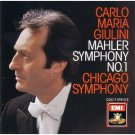 mahler symphony no.1 - carlo maria giulini and chicago symphony CD 1986 EMI 1987 angel mint