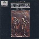 corelli 12 violinsonaten - eduard melkus CD 2-disc box archiv polygram used mint