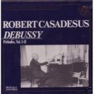 masterworks portrait - debussy preludes vol. I - II - casadesus CD 1989 CBS new
