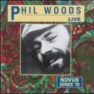 phil woods - live CD 1991 RCA novus used mint