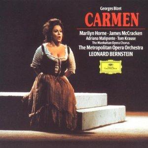 bizet - carmen - horne mccracken bernstein MOO MOC CD 3-discs 1973 1991 DG polygram