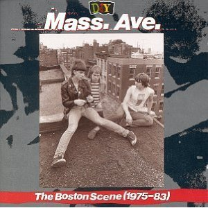 D.I.Y. mass ave - the boston scene 1975 - 83 CD 1993 rhino used mint notched
