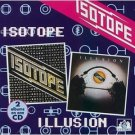 isotope - isotope & illusion CD 1995 see for miles UK used mint