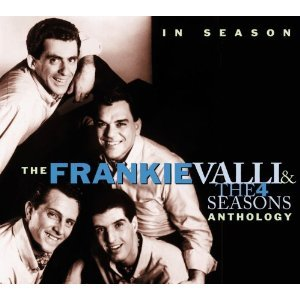 in season - frankie valli and the 4 seasons anthology CD 2-disc box 2001 rhino used mint