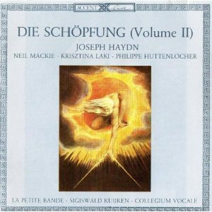 haydn - die schopfung la creation - mackie laki huttenlocher bande CD 2-disc 1983 accent mint