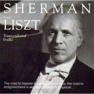 russell sherman - franz liszt - transcendental etudes CD 1990 albany used mint