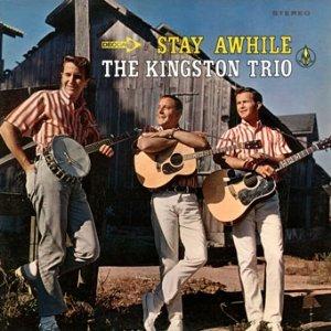 kingston trio - stay awhile CD 1993 folk era MCA used mint