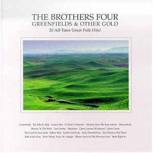 brothers four - greenfields and other gold CD 1996 folk era american licensing used mint