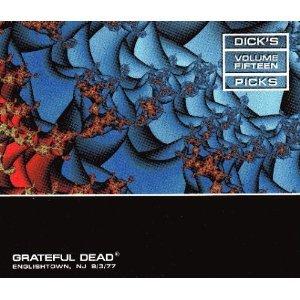grateful dead - dick's picks volume fifteen engligh town NJ 9/3/77 HDCD 3-disc box 1999