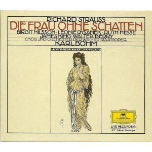 Die Frau Ohne Schatten (Woman Without a Shadow) - Richard Strauss 3CD box 1985 DG mint