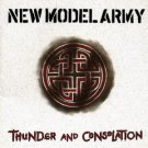 new model army - thunder and consolation CD 1989 EMI new factory sealed