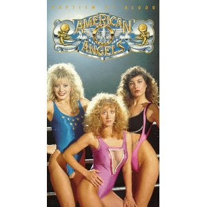 american angels - Jan MacKenzie Tray Loren Mimi Lesseos Trudy Adams VHS 1990 paramount new