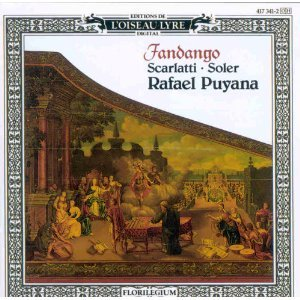 fandango - scarlatti and soler - rafael puyana CD 1990 decca w germany l'oiseau-lyre used mint