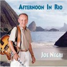 joe negri - afternoon in rio CD 1999 jazz mcg used