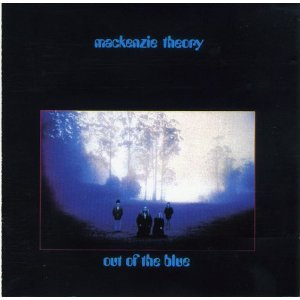 mackenzie theory - out of the blue CD 1993 mushroom 6 tracks used mint