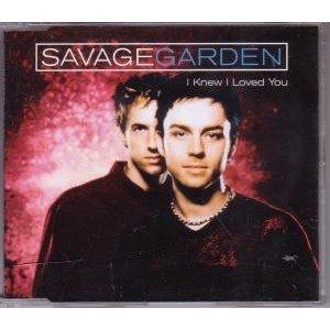 savage garden - i knew i loved you CD single 1999 sony 3 tracks used mint