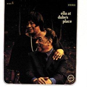 ella fitzgerald and duke ellington - ella at duke's place CD 1996 verve polygram used mint