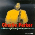 charlie parker - the legendary dial masters 1 & 2 CD 2-discs 1996 jazz classics used mint