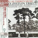 denny zeitlin trio - as long as there's music CD 1998 venus japan new