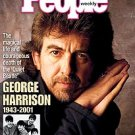 people megazine dec 17, 2001, george harrison 1943 - 2001 on cover used excellent condition