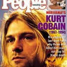 people megazine apr 25, 1994 with kurt cobain 1967 - 1994 on cover used excellent condition