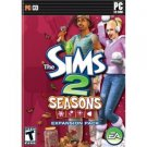 The Sims 2 Seasons Expansion Pack CD ROM 2007 electronic arts Windows 98 / 2000 / XP mint