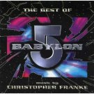 christopher franke - best of babylon 5 CD 1997 sonic images 18 tracks used mint