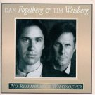 dan fogelberg & tim weisberg - no resemblance whatsoever CD 1995 giant BMG dir mint